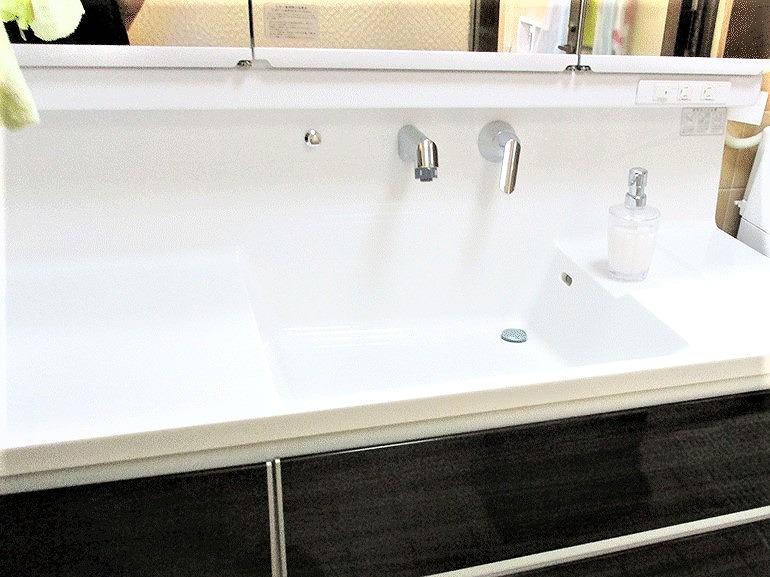 洗面台リフォーム ビフォーアフター〈洗面ボウル〉 After写真