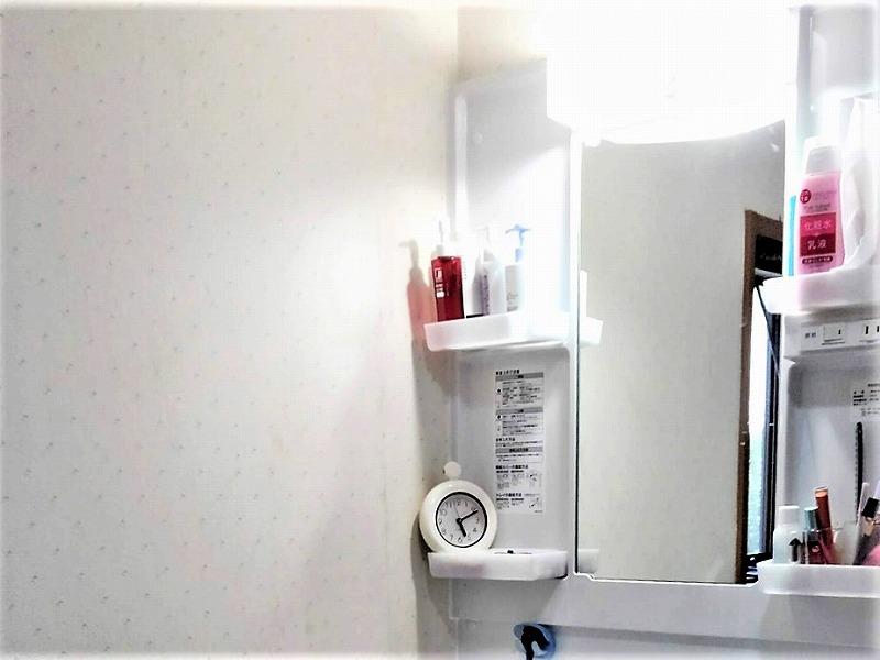 洗面台リフォーム ビフォーアフター〈ミラー〉 After写真