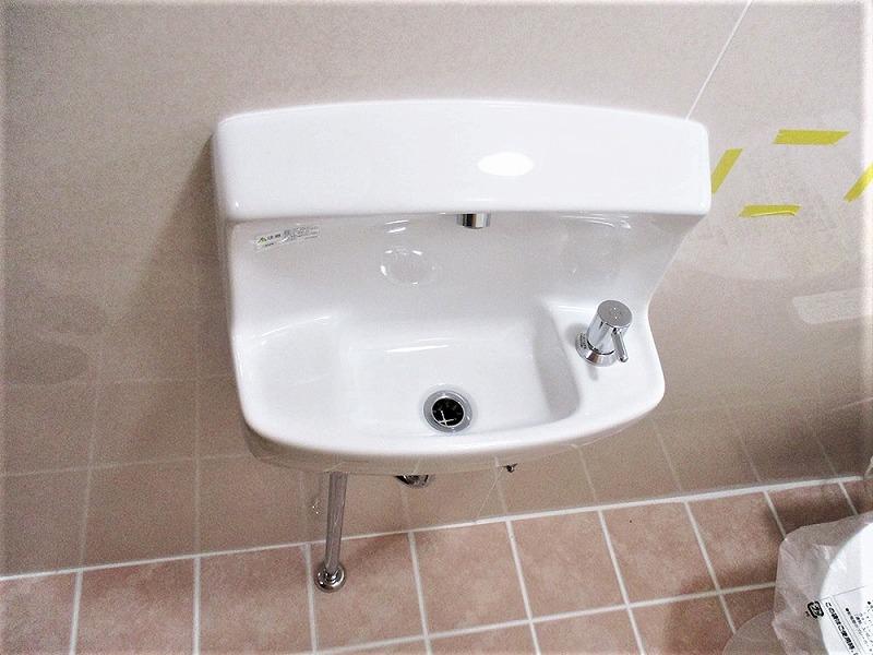 手洗器 ビフォーアフター After写真
