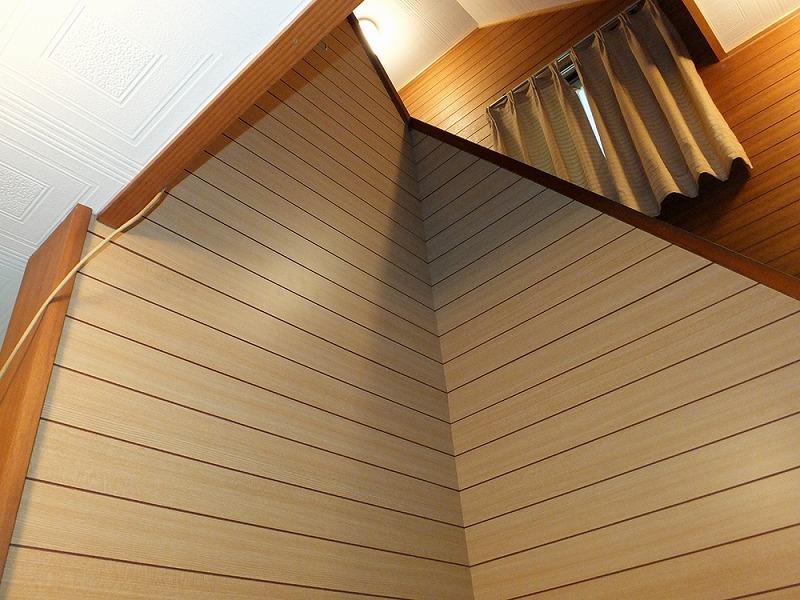 照明取替え・壁補修・床張替え・天井水漏れ補修工事