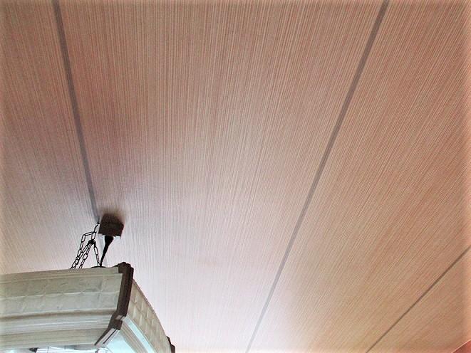内部爆裂改修・天井張り替え工事