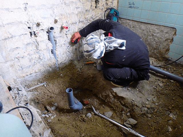 【3】給水・給湯・排水管工事