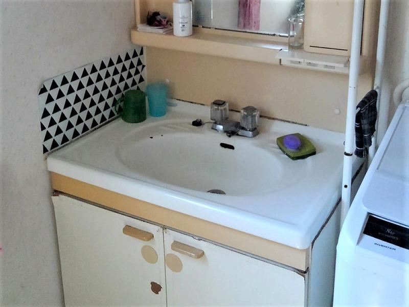 洗面台リフォーム ビフォーアフター〈洗面ボウル〉 Before写真