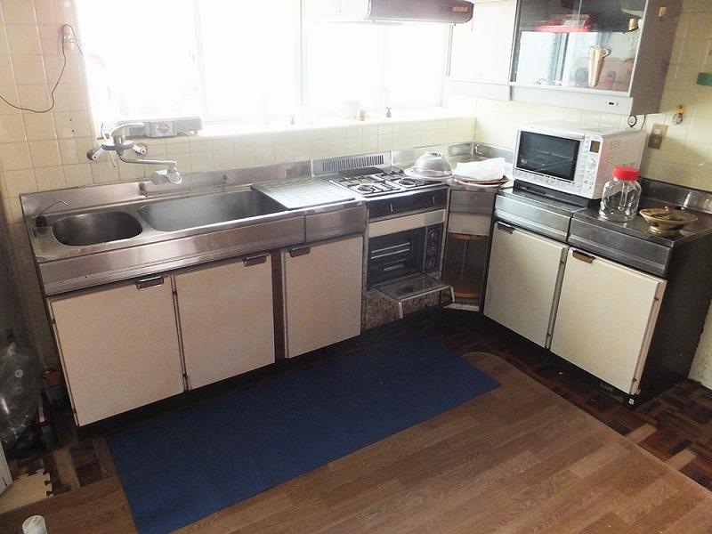 キッチン流し台交換 Before写真