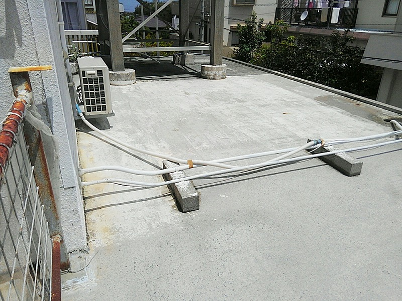 内装リフォーム ビフォーアフター〈屋上防水〉 Before写真