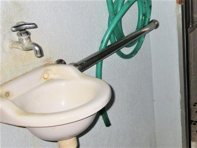 手洗器 ビフォーアフター Before写真