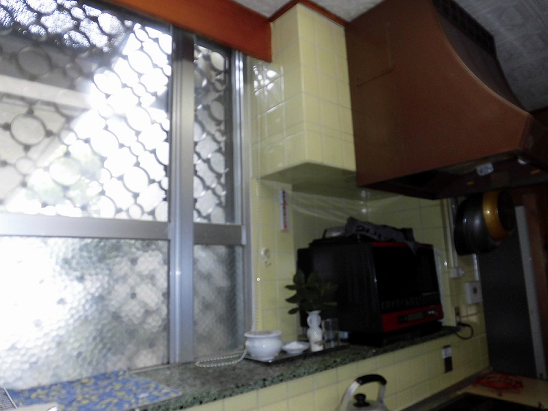 キッチンリフォーム ビフォーアフター〈レンジフード〉 Before写真