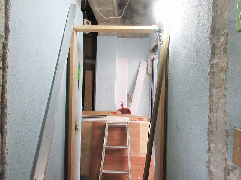 【4】ドア枠取付け