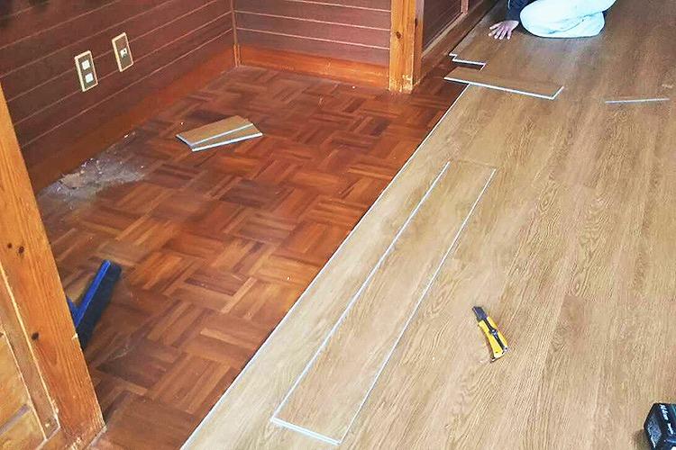 【3】床材張り