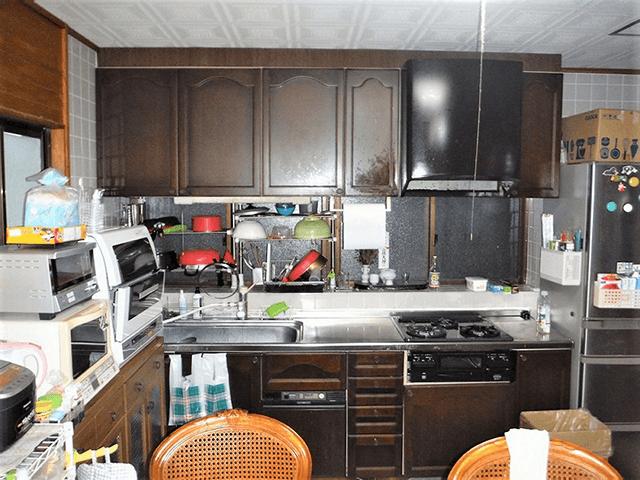 システムキッチン Before写真