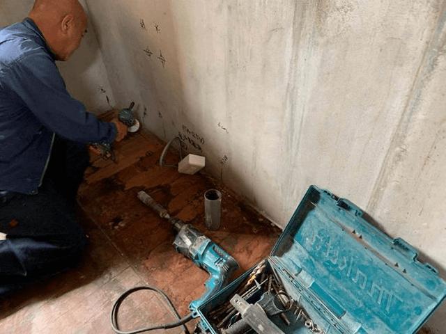 【6】配線および給排水管工事