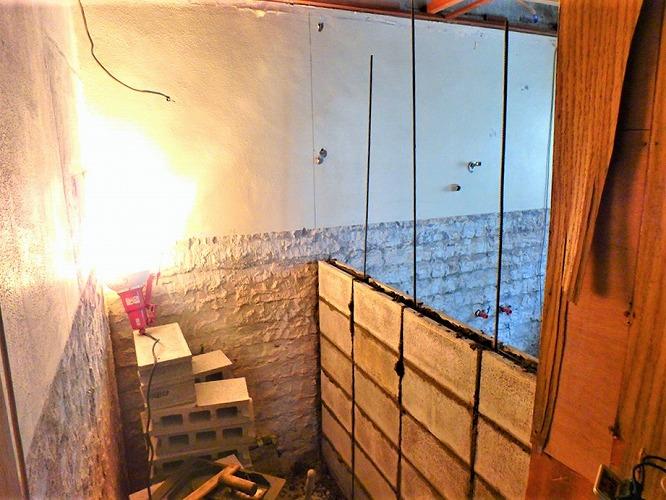 2:仕切り壁の新設工事
