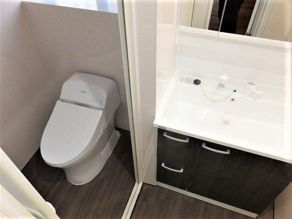 トイレ・洗面台リフォーム After写真