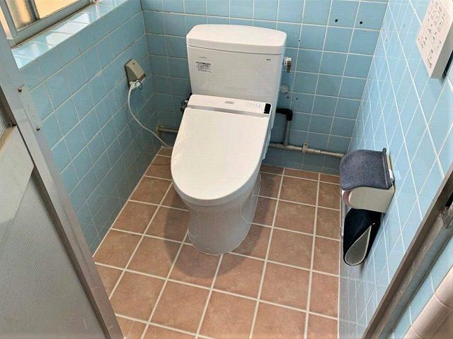 和式から洋式トイレに改装 After写真