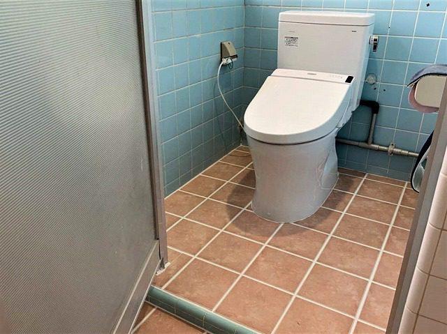 トイレ改装工事(和式トイレから洋式、小便器交換)