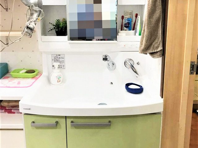5:洗面化粧台設置