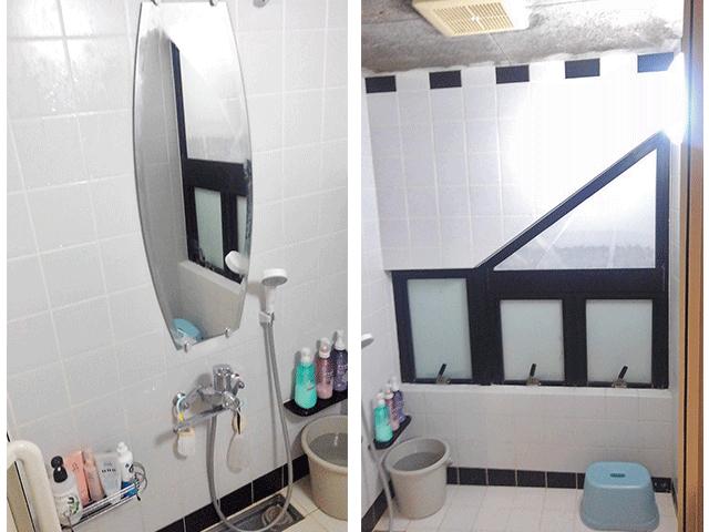 鏡・窓 Before写真