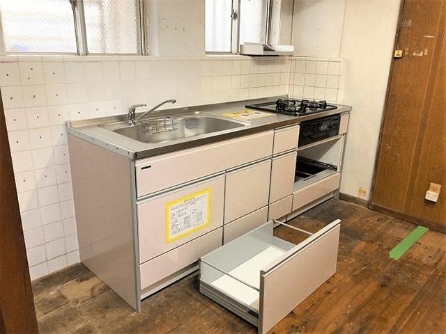 【7】システムキッチン組立て