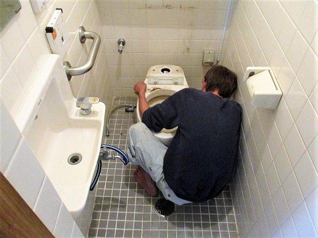2:トイレ解体