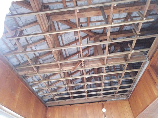 天井張替え Before写真