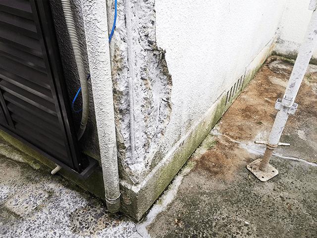 ハツリ・カット・高圧洗浄作業