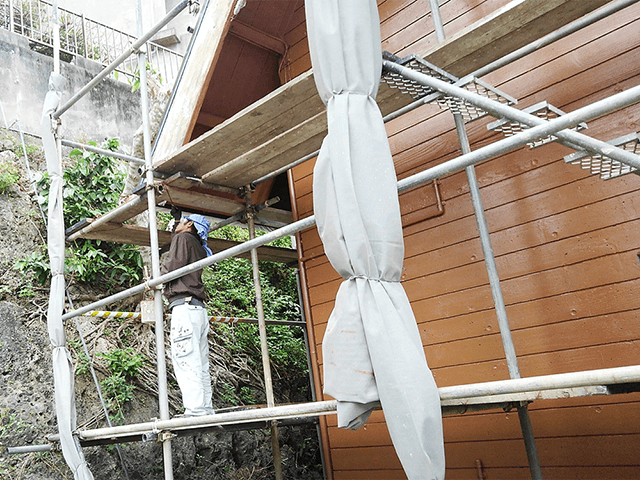 【4】軒裏塗装