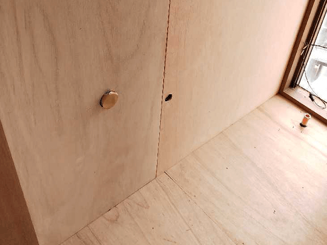 壁下地作成