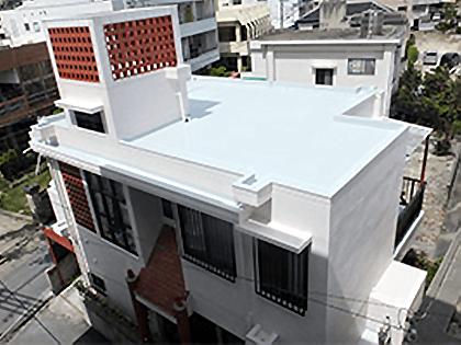 外壁塗装リフォーム ビフォーアフター〈屋上〉 After写真