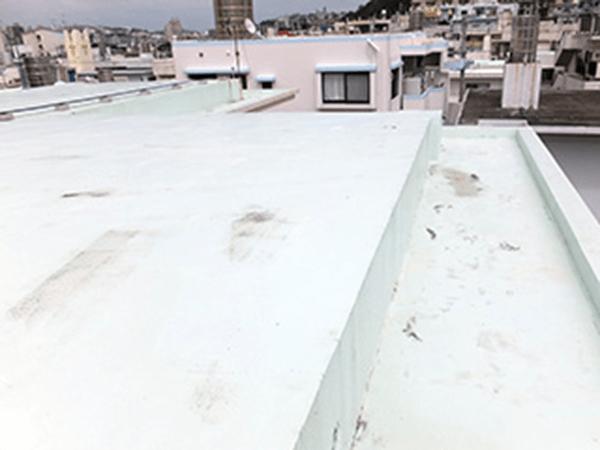 外壁塗装リフォーム ビフォーアフター〈屋上〉 Before写真