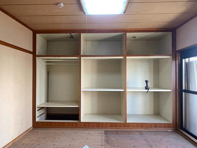 【2】和室収納解体