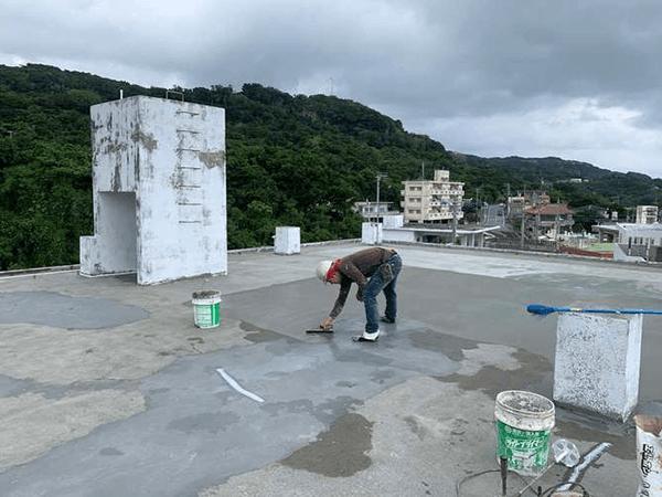 【5】下塗りプライマー塗布