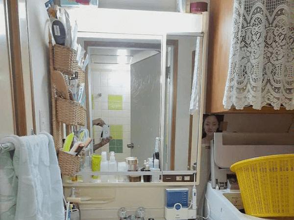洗面台リフォーム ビフォーアフター Before写真