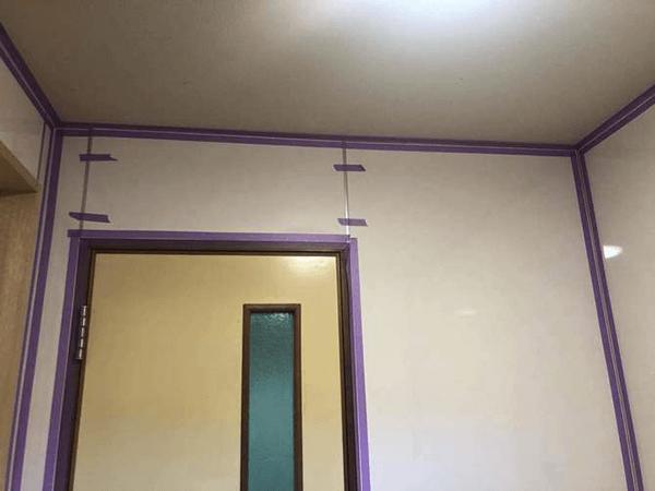 【5】壁パネル張り