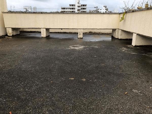 防水リフォーム ビフォーアフター〈屋上〉 Before写真