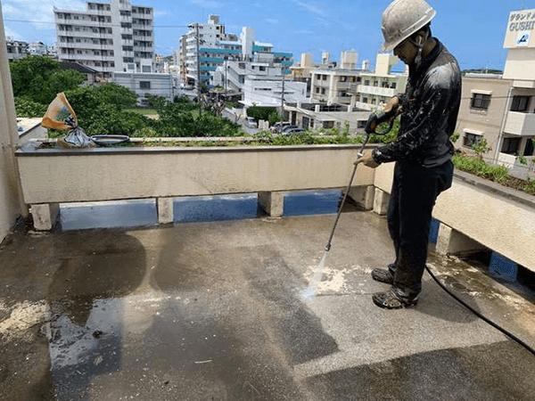 【4】高圧洗浄