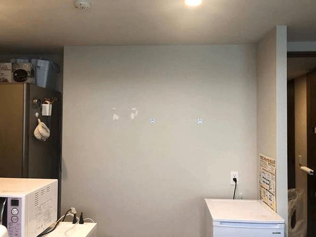 【2】キッチン吊り棚リフォーム前準備