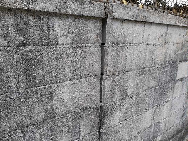 ブロック塀 Before写真