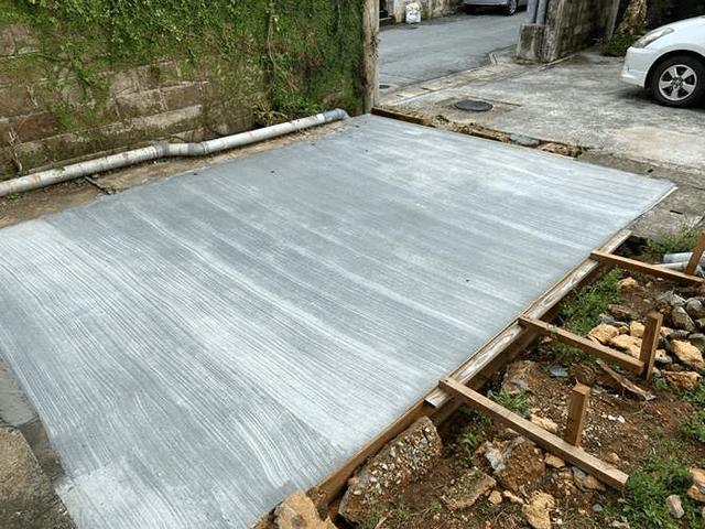 【5】コンクリート打設作業