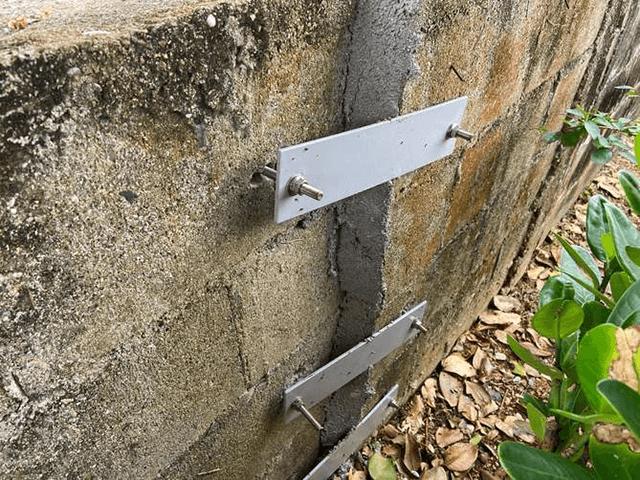 【6】ブロック塀補強作業