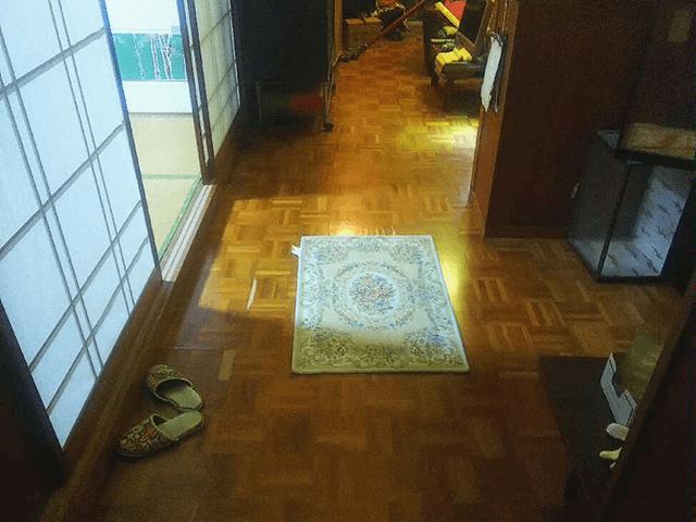 玄関廊下 Before写真