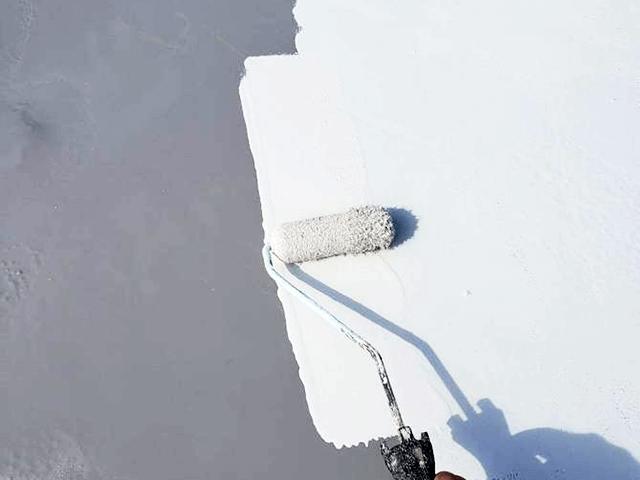 【8】防水上塗り作業