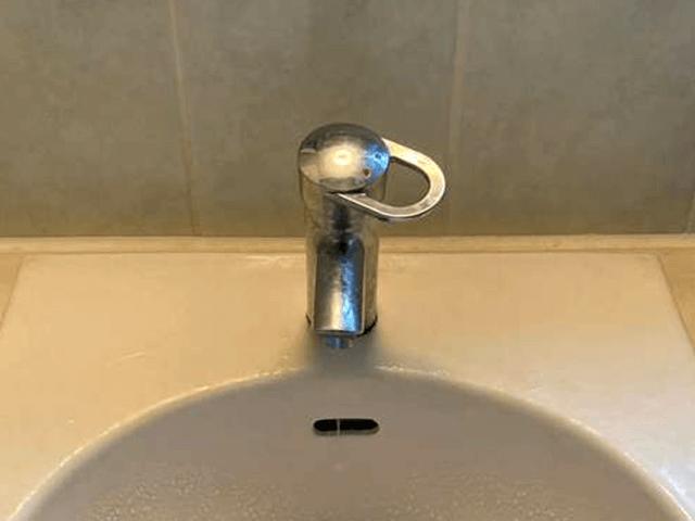 水栓 Before写真