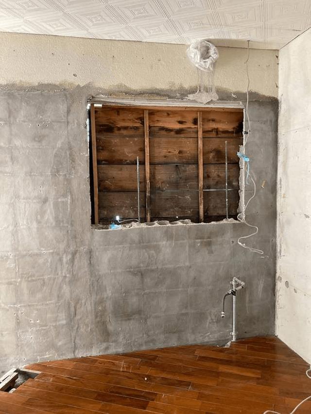 【1】一部ブロック塀解体・撤去作業