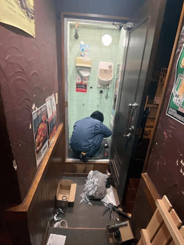 【1】トイレ設置工事