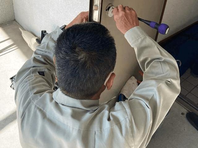 【1】レバーハンドル解体撤去工事