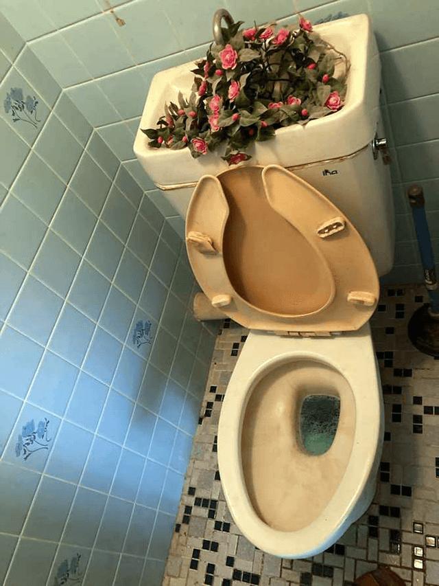 トイレ Before写真
