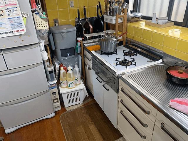 キッチン Before写真