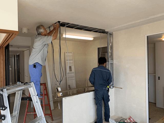 【3】電気工事(設備機器の配線接続等)