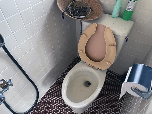 トイレ・シャワー室 Before写真