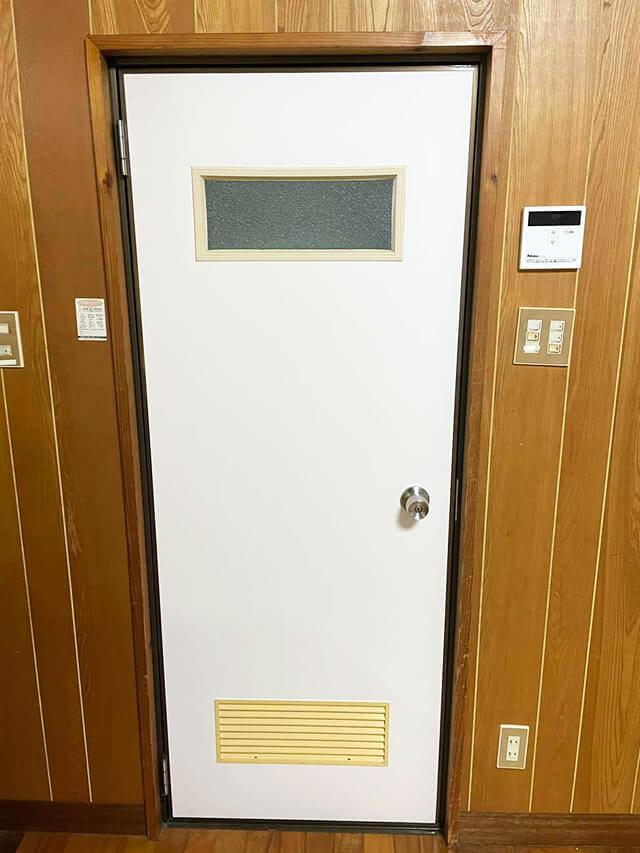 室内ドア After写真